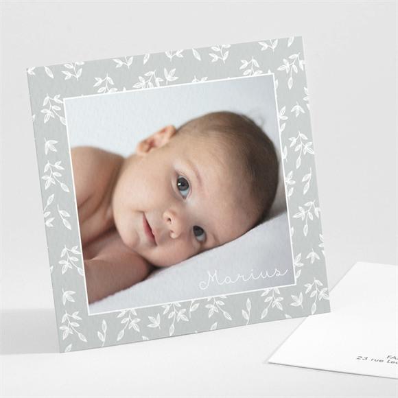Faire-part naissance Cadre photo simple réf.N301251