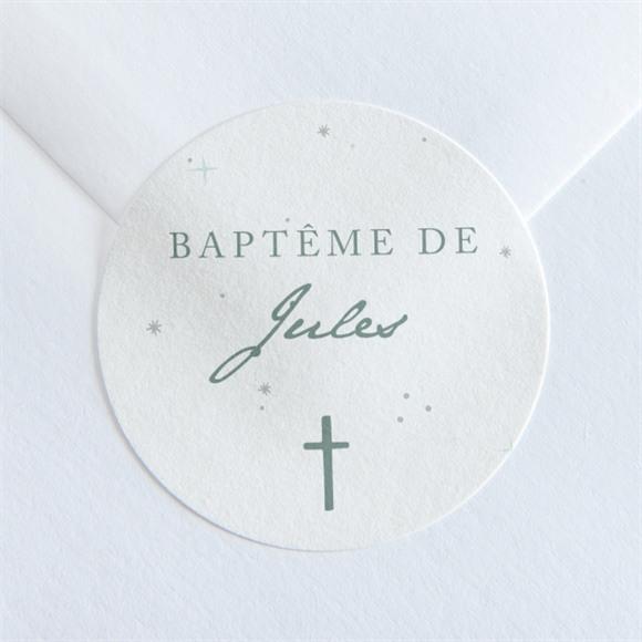 Sticker baptême Lumière ! réf.N360124