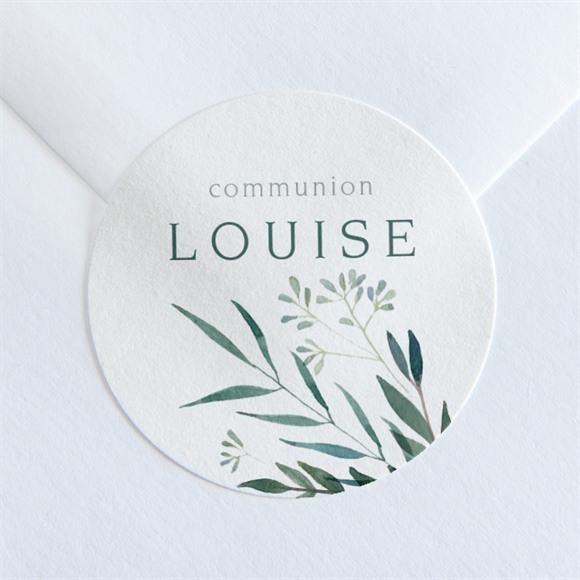 Sticker communion Touche Champêtre réf.N360126