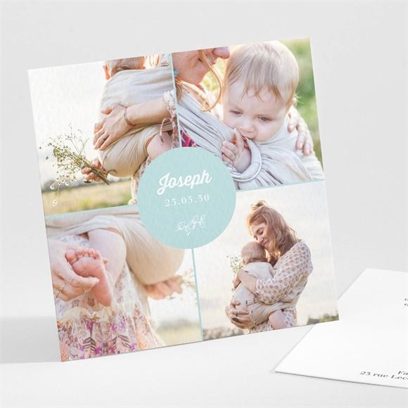 Faire-part naissance Multi photos réf.N301253