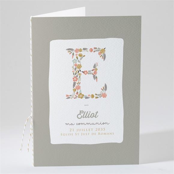 Livret de messe communion Signature Florale réf.N491229