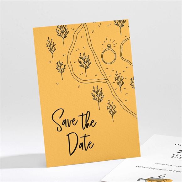 Save the Date mariage Bohême chic réf.N211297