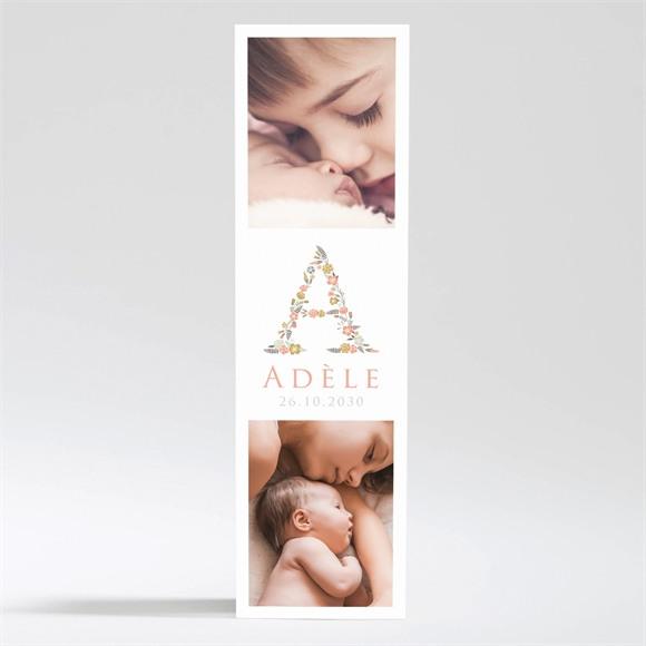 Faire-part naissance Belle initiale réf.N200338