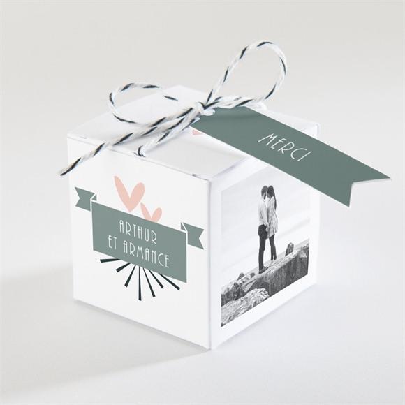 Boîte de dragées mariage Petit Pele Mele réf.N340338