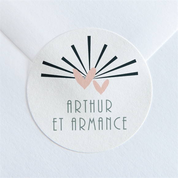 Sticker mariage Petit Pele Mele réf.N360135