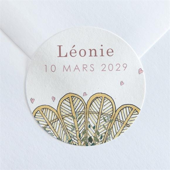 Sticker naissance Tendre Berceau réf.N360136