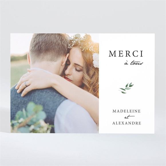 Remerciement mariage A l'ombre de l'olivier Magnet réf.N11032