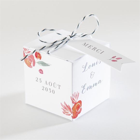 Boîte de dragées mariage Couronnés réf.N340339