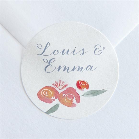 Sticker mariage Couronnés réf.N360138