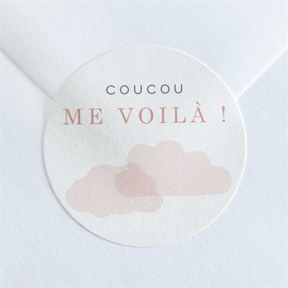 Sticker naissance Ma petite Baleine réf.N360139