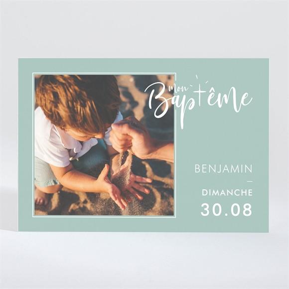 Faire-part de baptême Jeu de mots magnet réf.N11037