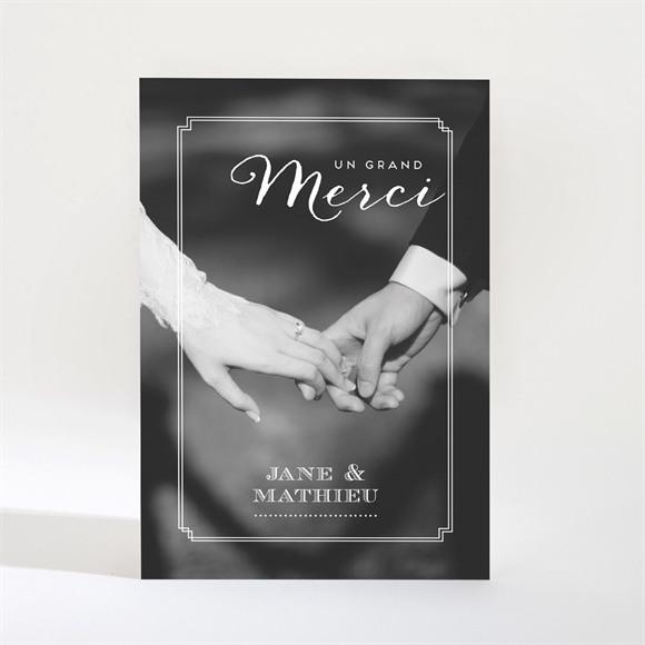 Remerciement mariage Kraft en folie Magnet réf.N21023