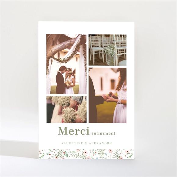 Remerciement mariage Fraicheur d'été Magnet réf.N21024