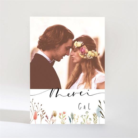 Remerciement mariage Art Champêtre Magnet réf.N21028