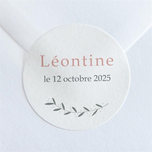 Sticker naissance Tendre écrin réf.N360142