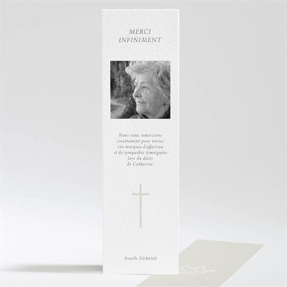 Remerciement décès Colombe de l'Espérance réf.N201228