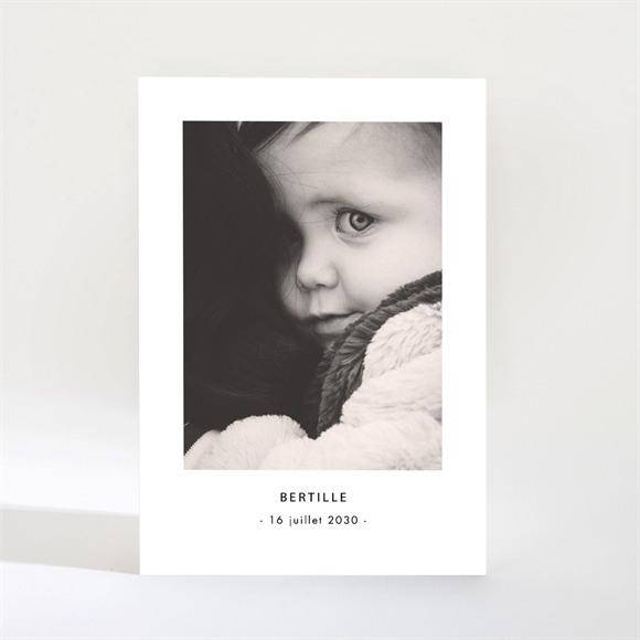 Faire-part naissance Portrait Intimiste réf.N21038