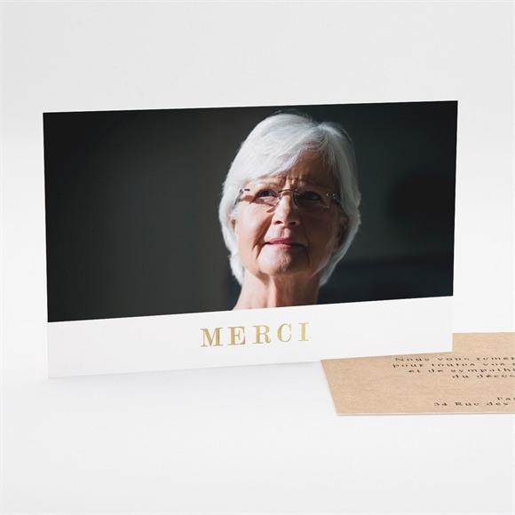 Remerciement décès En sa Mémoire réf.N17132