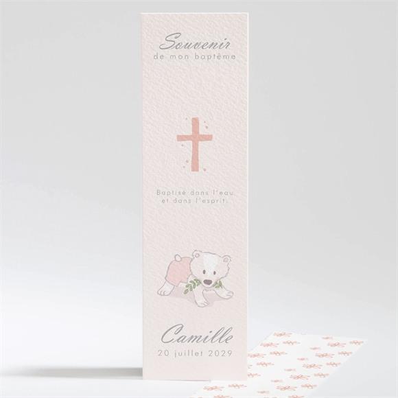 Signet baptême Mon petit Marque Page réf.N201230