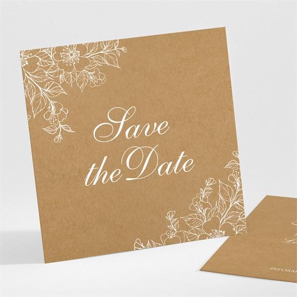 Save the Date mariage Belle découverte réf.N301272