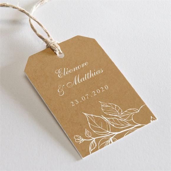 Etiquette mariage Belle découverte réf.N29183