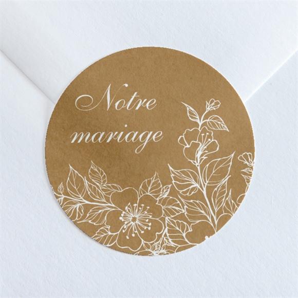 Sticker mariage Belle découverte réf.N360151