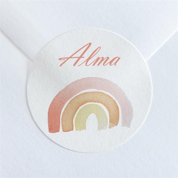 Sticker naissance Joli petit mobile réf.N360154
