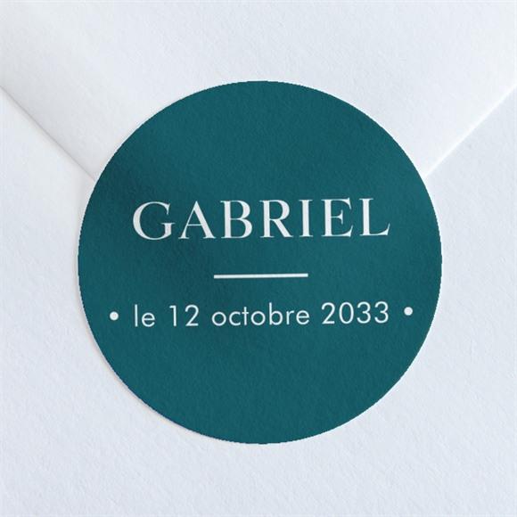 Sticker naissance Son petit Portrait réf.N360160