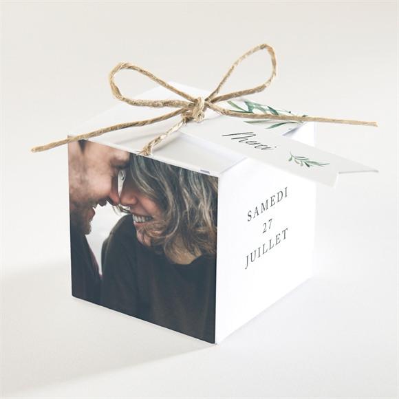 Boîte de dragées mariage Semer notre Amour réf.N340348