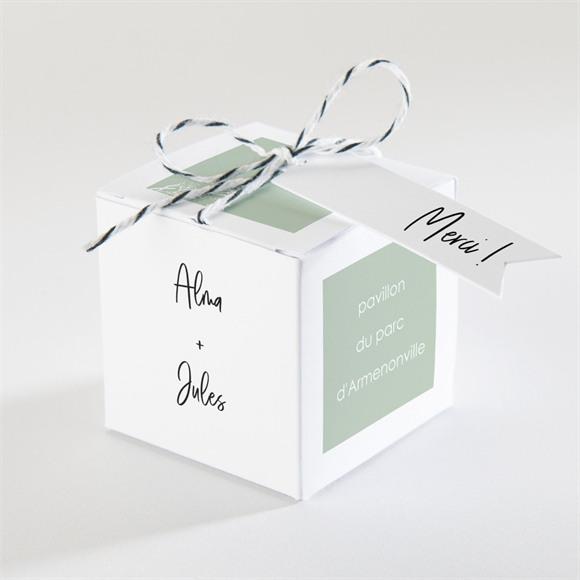 Boîte de dragées mariage Beauté à fleurir réf.N340344