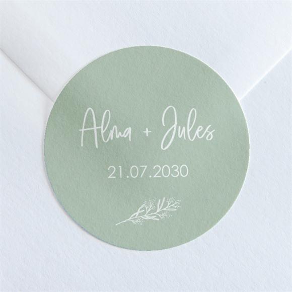 Sticker mariage Beauté à fleurir réf.N360157