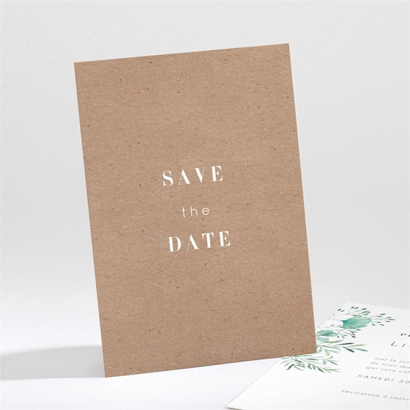 Save the Date mariage Let our Love grow ! réf.N211319