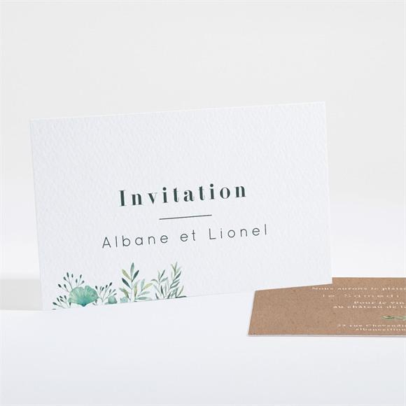 Carton d'invitation mariage Let our Love grow ! réf.N161166