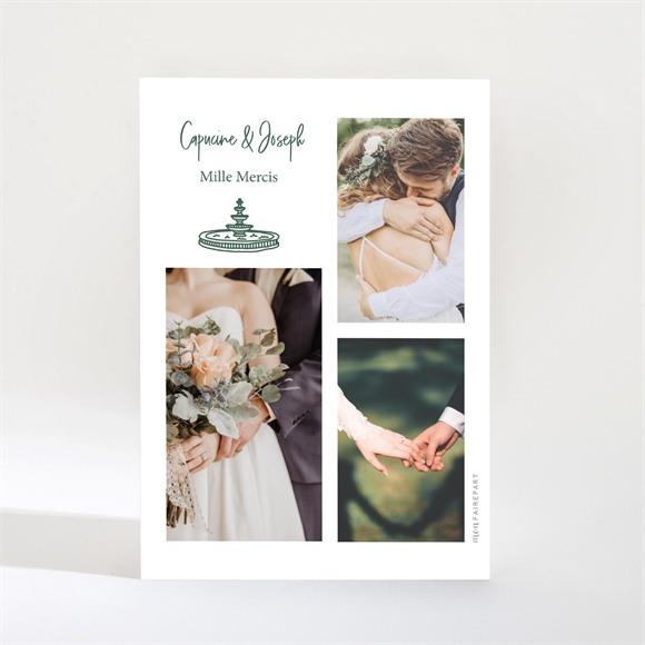 Remerciement mariage Trésor en médaillon magnet réf.N21047