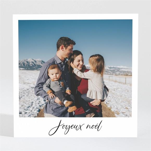 Carte de voeux Nos voeux en Polaroid magnet réf.N3001694