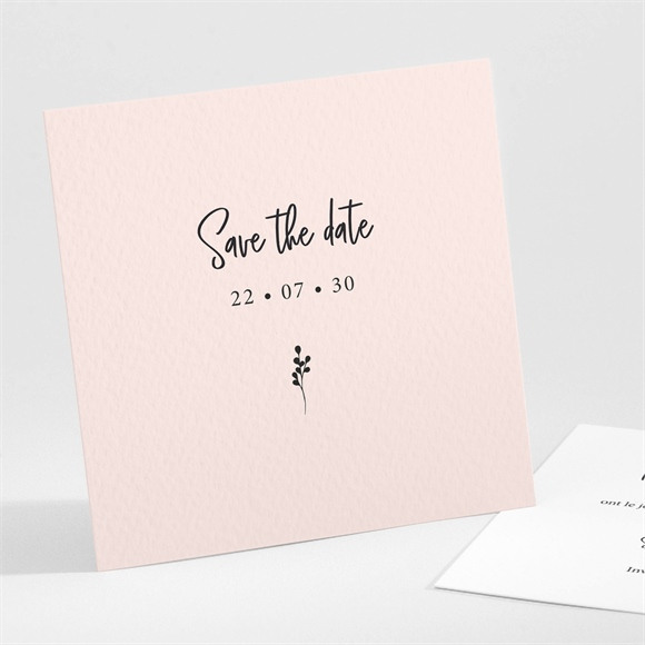 Save the Date mariage Dites-le avec des fleurs réf.N301274