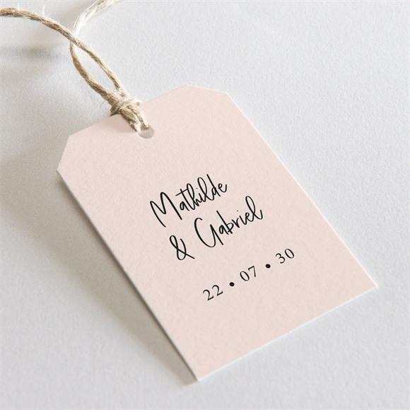 Etiquette mariage réf. N29187 réf.N29187
