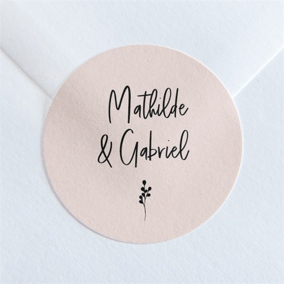 Sticker mariage réf. N360158 réf.N360158