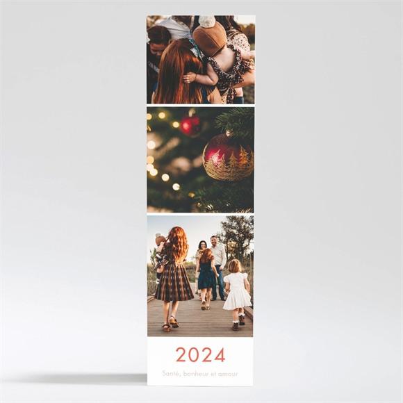 Carte de voeux Voeux Petit Marque page magnet réf.N200358
