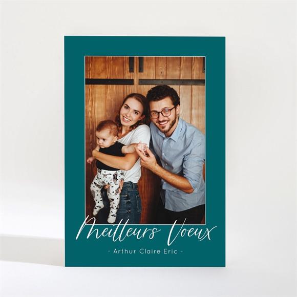 Carte de voeux Portrait de famille magnet réf.N21051