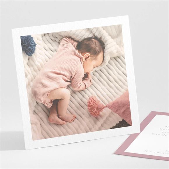 Remerciement naissance Cultivons notre Bonheur réf.N301280