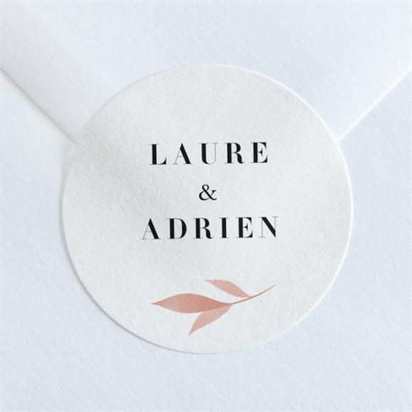 Sticker mariage On sème réf.N360166