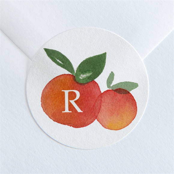 Sticker naissance Petits Agrumes réf.N360171