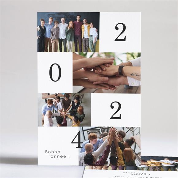 Carte de voeux Ensemble réf.N241234