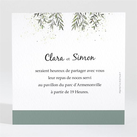 Carton d'invitation mariage Champêtre virevoltant réf.N3001731