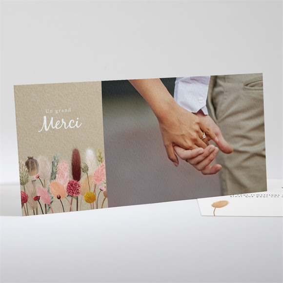 Remerciement mariage réf. N131111 réf.N131111