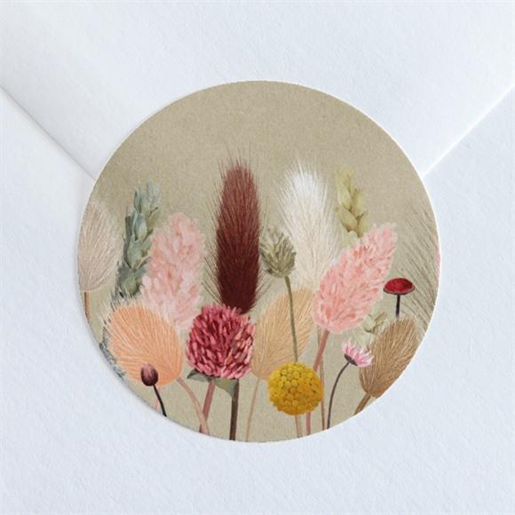 Sticker mariage Notre Bouquet Champêtre réf.N360168