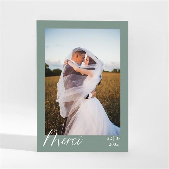 Remerciement mariage Gravure Champêtre réf.N21050