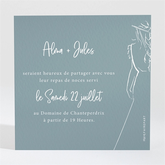 Carton d'invitation mariage Let our Love grow réf.N3001691