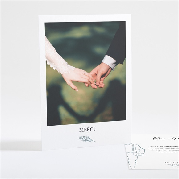 Remerciement mariage Let our Love grow réf.N25122